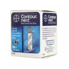 Bayer 7308 Contour Next Blood Glucose Test Strips- 50 piece
