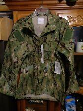 AOR2 Nwu Woodland Camicia Tipo III USN Misura Medio Regolare Nuovo con Etichetta