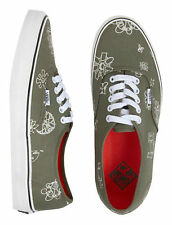 VANS Skate Shoes - Tudor Military Aloha with Vanslite Insole - Men 6.5 Wome