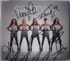 THE SATURDAYS * MY HEART TAKES OVER * UK CD w/ SIGNED SLEEVE * BN&M!