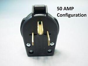 WELDER PLUG 50 AMP MALE NEMA 6-30P 6-50P Genuine Cooper Not Chinese Import