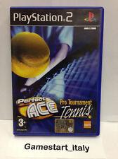 PERFECT ACE TENNIS (PS2) USATO PERFETTAMENTE FUNZIONANTE - PAL VERSION