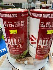 2 X Dymatize  All9 Amino 450g - 30 Serve Cola Lime & Fruit Fusion