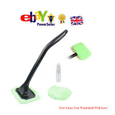 Washable Car Windshield Easy Cleaner Microfiber Detachable Handle Brush Cleaning