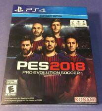 Pro Evolution Soccer 2018 Legendary Edition [ PES 2018 ] (PS4) NEW