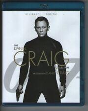 James Bond 007 Craig Blu Ray box Casino Royale Quantum Of Solace Skyfall SPECTRE