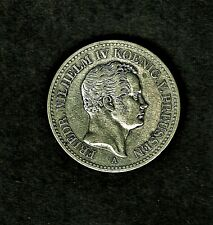 1841-a German States: PRUSSIA Thaler silver coin (KM#437) at E.F. condition