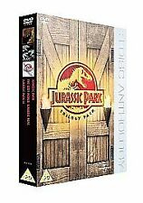 JURASSIC PARK TRILOGY DVD TRIPLE PACK PART 1 2 3 LOST WORLD NEW FREEPOST