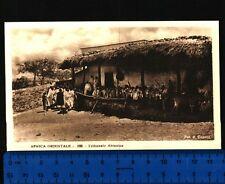 AFRICA ORIENTALE  VEDUTA DEL TRIBUNALE ABISSINO FOT. A. COMINI ANIMATA  24406