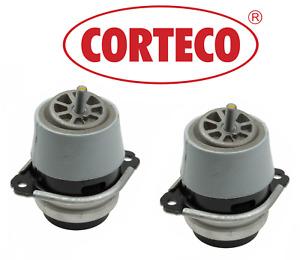 OEM Engine Motor Mount Hydraulic Set 2pcs Original Corteco Q7 Cayenne Touareg