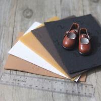 5Pcs/set 13cm*9cm Doll shoes material sole doll shoes Accessories DIY doll soAQA