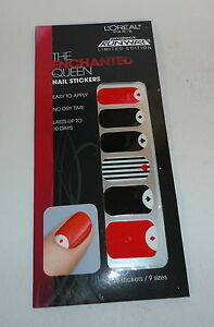 LOreal~ Project Runway THE ENCHANTED QUEEN Nail Stickers