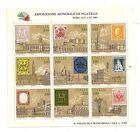 Foglietto Italia Esposizione Mondiale Di Filatelia Roma 25-X 3-XI 1985 (300)