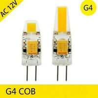 Mini LED Light Bulb G4 3W 6W COB Lamp Bulb AC/DC12V High Power White/ Cold White