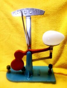 Nicely Refurbished Zenith Egg Grader With Vintage Glass Egg~Great Display Piece
