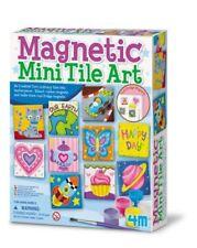 Magnetic mini Tiles art Kids kit craft imagination 00003932  Game fun children Boy Girl