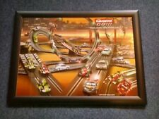 Carrera Go Framed A2 Sized Poster 66cm X 49cm - Great For Playrooms / Nursery