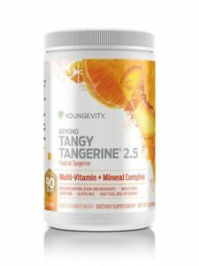 Youngevity Beyond Tangy Tangerine 2.5 Twin Pack!  New & Improved!