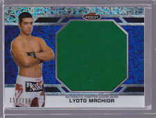 2012 Finest UFC Threads Jumbo Fighter Relics X-Fractors Lyoto Machido 150/188