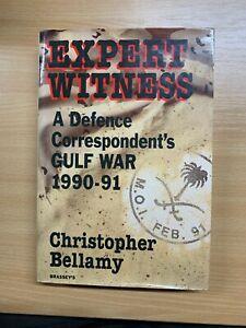 "1993 1ST UK EDITION ""EXPERT WITNESS"" C.BELLAMY GULF WAR HARDBACK BOOK (P5)"