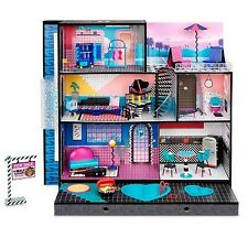 L.O.L. Surprise! O.M.G. House – Real Wood Doll House with 85+ Surprises