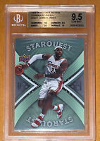 2008 LeBron James UPPER DECK STARQUEST GREEN FIRST EDITION #SQ17 BGS 9.5,10 PSA