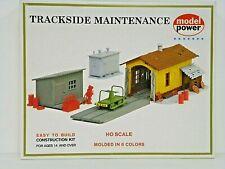 "Model Power Ho U/A ""Trackside Maintenance"" Plastic Model Kit #408 Ho Kit Nos"