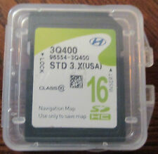 2014 Hyundai Sonata Navigation GPS SD CARD MAP DATA U.S 100% Hyundai OEM 3Q400