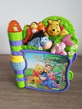 Vtech Disney Winnie The Pooh Slide and Learn Activity Musical Story Book  { 6 }