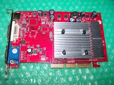 Nvidia GeForce 6200A 256MB DVI/VGA/TVO AGP Graphic Card, Win 7/8 compatible
