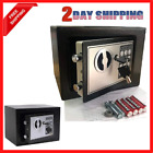 Safety Lock Box Fireproof Home Jewelry Waterproof Security Money Safe Storage US