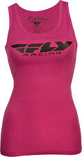 Fly Racing Unisex-Adult Corporate Ladies Tank Pink Large