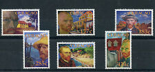 Curacao 2015 MNH Vincent van Gogh Portraits 6v Set Art Paintings