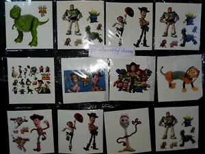 10 X TOY STORY Temporary Tattoos Kids Birthday Party Bag fillers #Sticker #3 #4