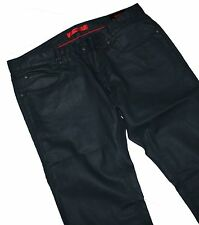 Hugo Boss 50263380 Hugo 708 Waxed Stretch Slim Fit Dark Blue Jeans W36 / L34