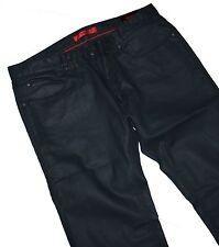 Hugo Boss 50263380 Hugo 708 Waxed Stretch Slim Fit Dark Blue Jeans W36 / L34