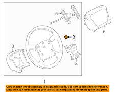 GM OEM-Steering Wheel Nut 14X1.5 NEW GM # 11609658
