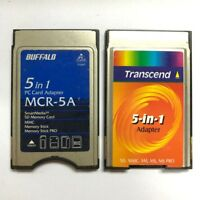 Promotion!!! 5 in 1 PC Card Adapter SD SM MMC MS Pro Card PCMCIA Card Adapter