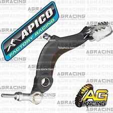 Apico Black Rear Foot Brake Pedal Lever For Ossa TR 125 2012 12 Trials New
