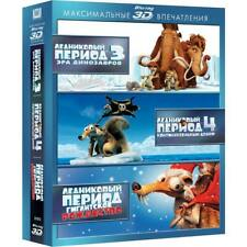 Ice Age: Dawn of the Dinosaurs/Ice Age: Continental Drift (Blu-ray 3D, 3-Disc)
