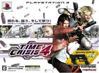 PS3 Time Crisis 4 Play Station 3 Japan Import Game Japanese