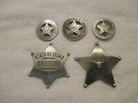 The TEXAS Collection--Replicas--Each Badge Comes in Its Own Box