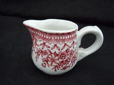 Mini Porzellan Kännchen Villeroy&Boch Fasan rot, auch für Puppenstube (A199) XX