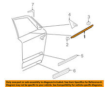 AUDI OEM A8 Quattro Rear-Window Sweep Belt Felt Molding Right 4E0853764G2ZZ
