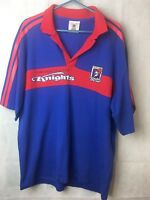 NRL Rugby League Team Supporter Jersey Blue and Red Newcastle Knights Size XXL