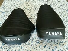 YAMAHA(n6) GT80 MX80 1973-1978 MODEL Seat Cover BLACK MAY FIT OTHER YEAR (Y32)
