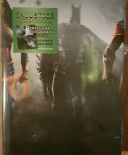 INJUSTICE: GODS AMONG US-COLLECTOR'S EDITION GAME GUIDE-HARDCOVER-FREE SHIPPING!