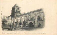 CP SAINT-JOUIN-DE-MARNES VUE EXTERIEURE CLOITRE ANCIENNE ABBAYE