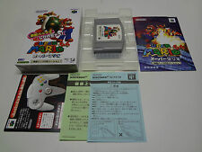 Super Mario 64 Rumble Pack Compatible Nintendo 64 Japan