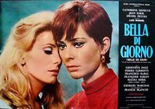 BELLE DE JOUR Italian fotobusta photobusta movie poster 3 DENEUVE LUIS BUNUEL